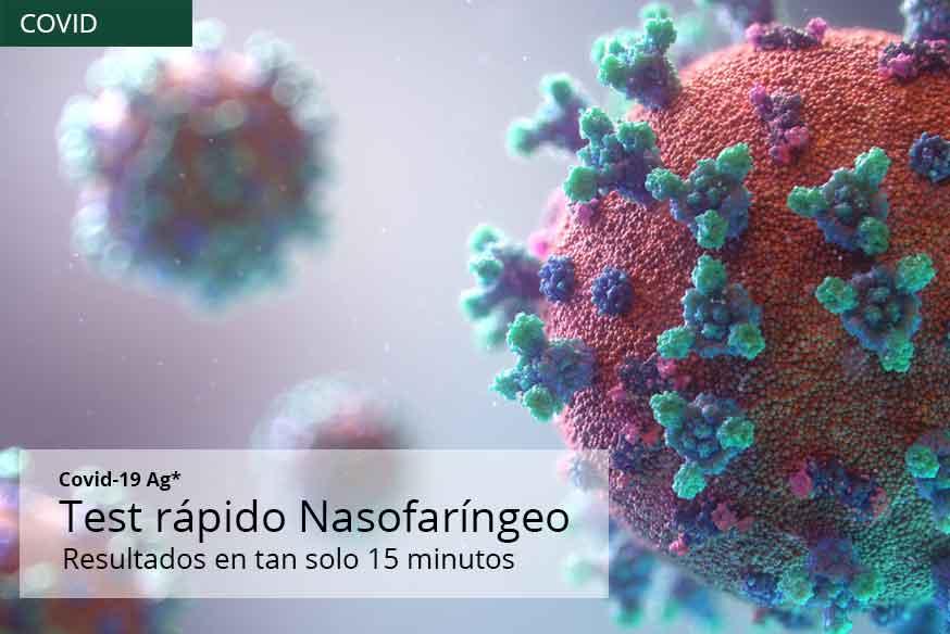 Test Antígeno en 15 minutos